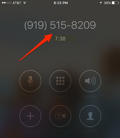 How to mute a phone call from an iPhone lock screen