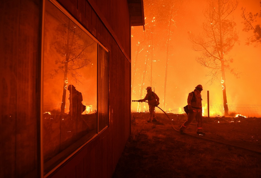 Humans spark most USA wildfires