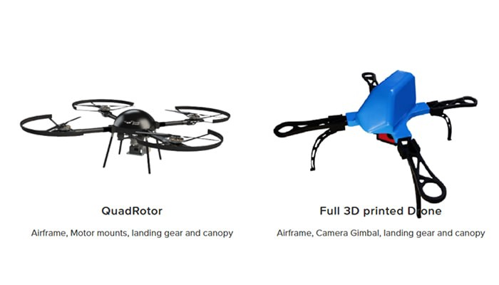 Full 3D printed drone fabricated by Fabheads