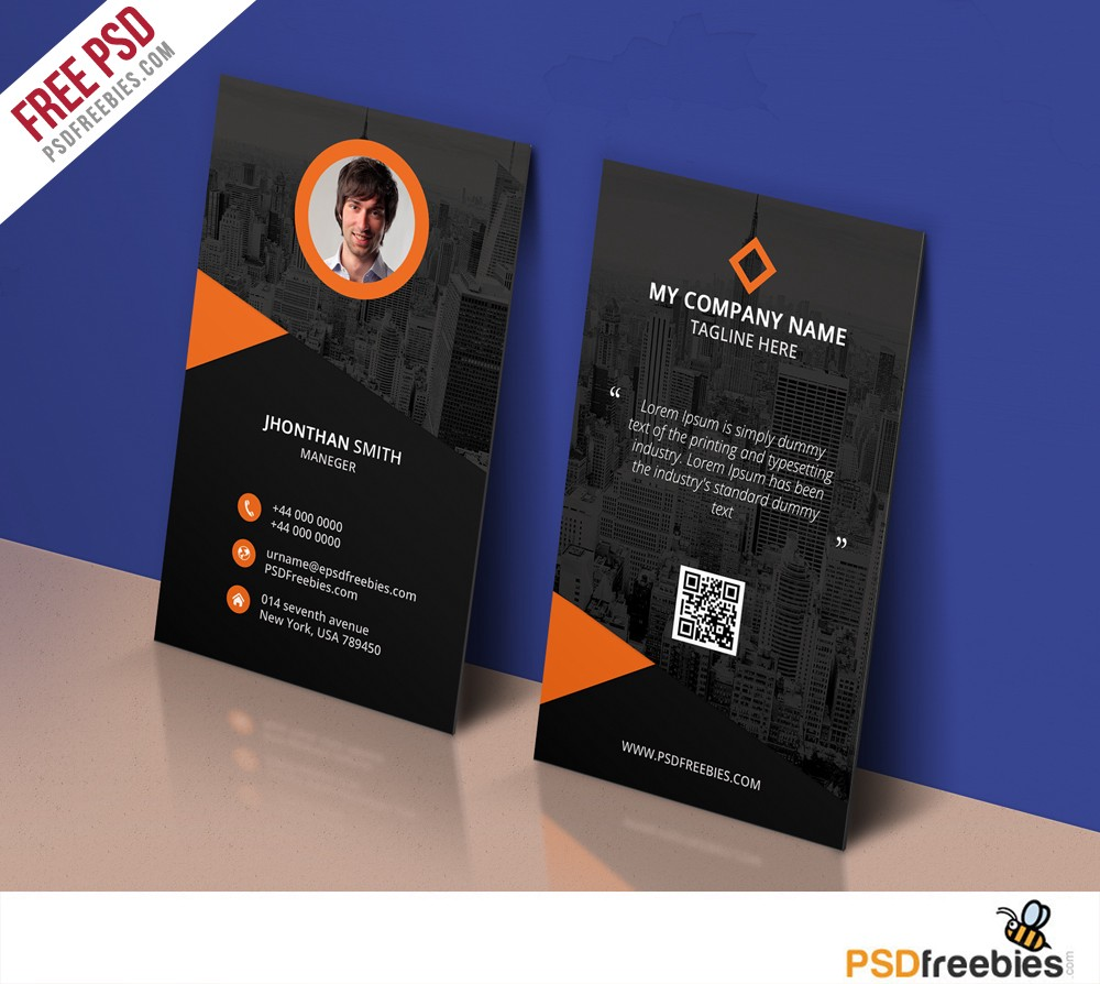 Modern corporate business card template free psd psdfreebies download modern corporate business card template free psd business card free psd is perfect for any personal or corporate use you can edit easily cheaphphosting Choice Image