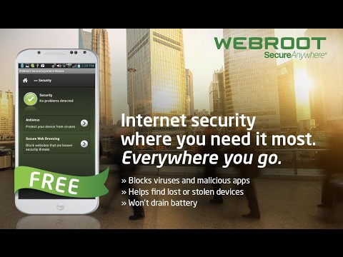 Webroot SecureAnywhere AntiVirus Protection