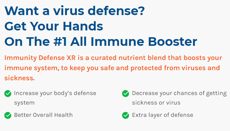 Immunity Defense XR