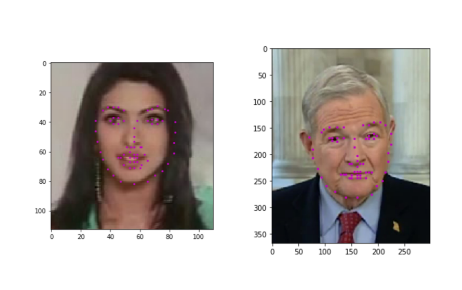 Facial Keypoint Detection: Detect relevant features of face in a go
