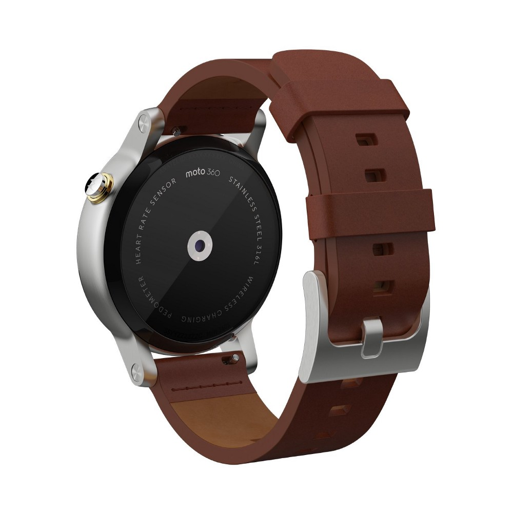The Moto 360 Marries Traditional Design with Modern Features 2