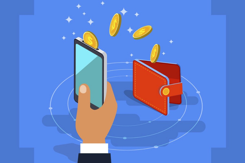 Downloading money is easy with BTC