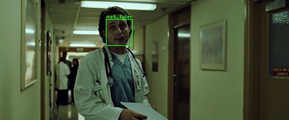 Can a Neural Network spot Tyler Durden? Using Dlib and OpenCV for