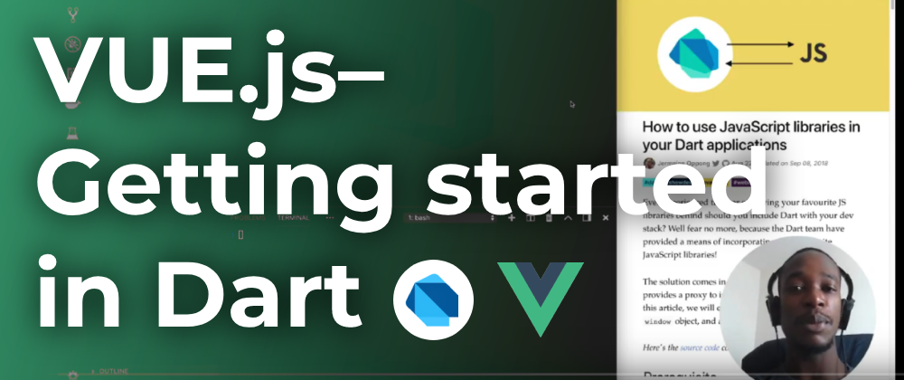 Vue.js–Getting started in Dart