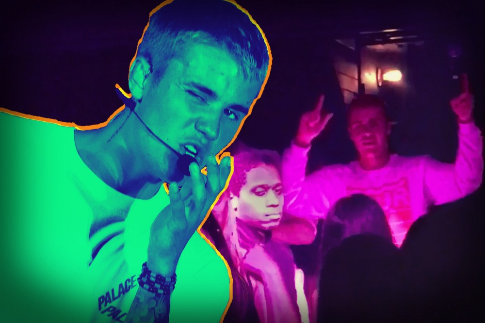 Justin Bieber totally forgets the words to Despacito