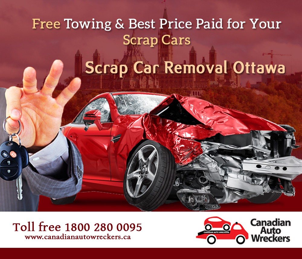 TOW YOUR SCRAP CARS FOR FREE WITH CANADIAN AUTO WRECKERS