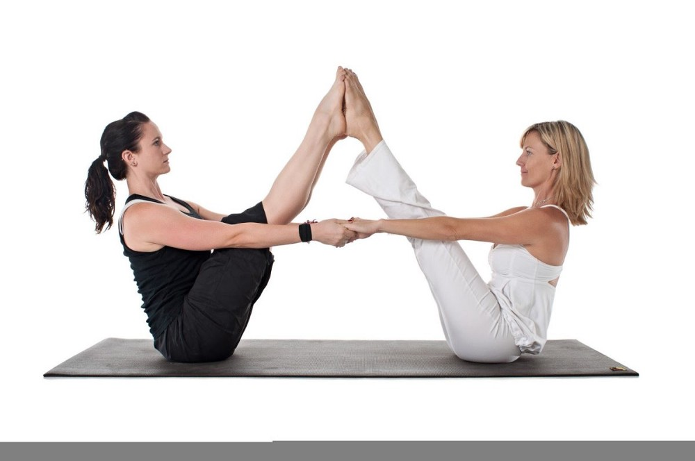 Types Of Two Person Yoga By Dolphin Seo