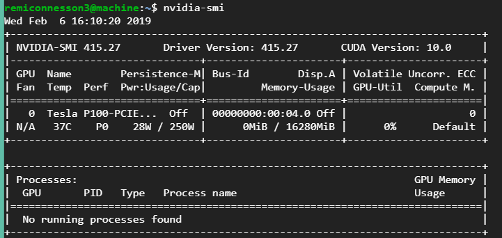 Use Nvidia-Docker to never worry about installing a specific version