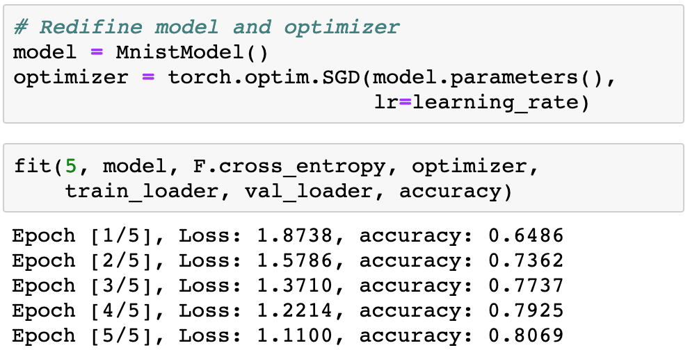 View Model Parameters Pytorch