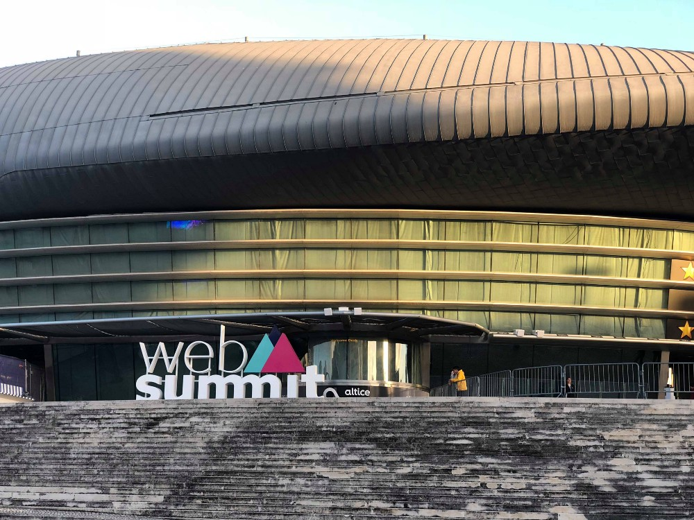 the highlight of the Web Summit 2018 in Lisbon