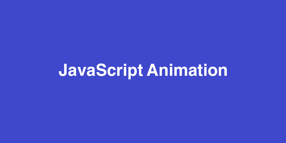 10 JavaScript Animation Libraries to Follow - By DashMagazine