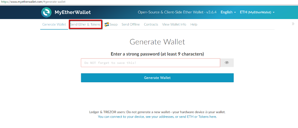 how to add debitum to myetherwallet