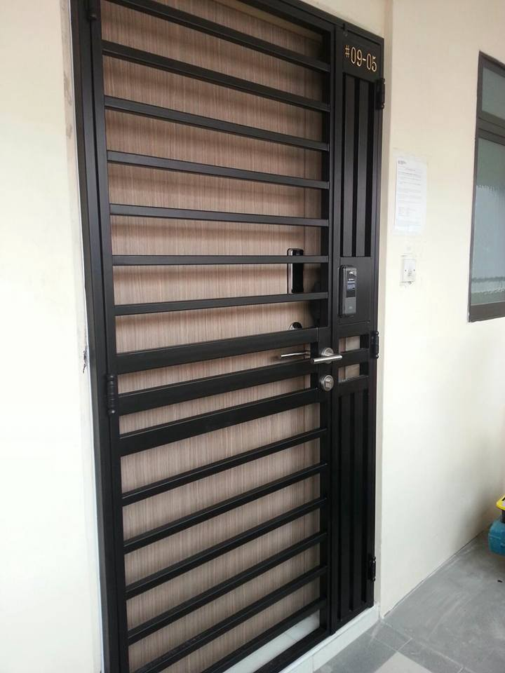 Singapore Door Gate Amp Simple Door Grill Designs Door Gates