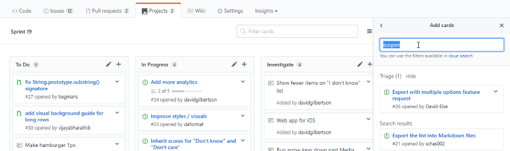 Use all GitHub features