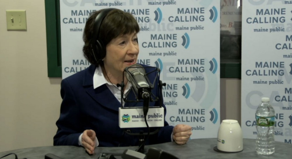 Sen. Susan Collins Calls For Investigating Michael Flynn, Russia Ties