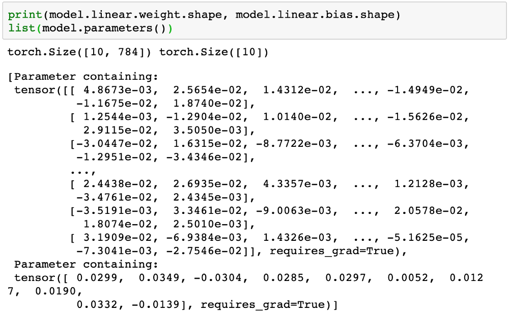Image Classification using Logistic Regression in PyTorch