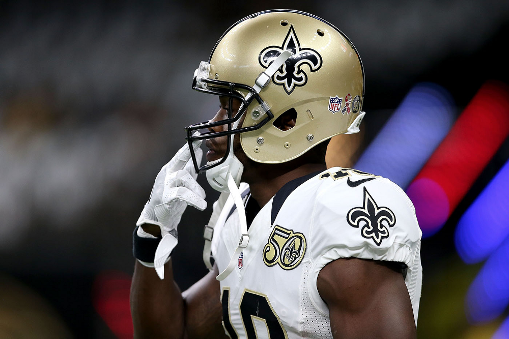 Brandin Cooks: 'No bad blood' with Saints over trade
