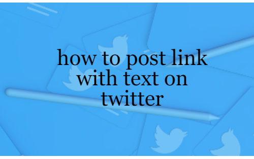 How to tweet a link with text on twitter via api in laravel