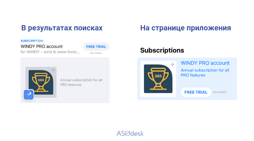 App Subscription