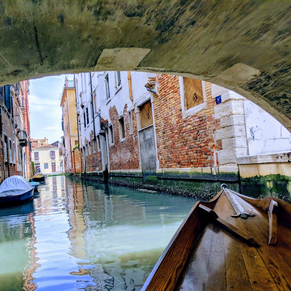 Solo travel in Venice