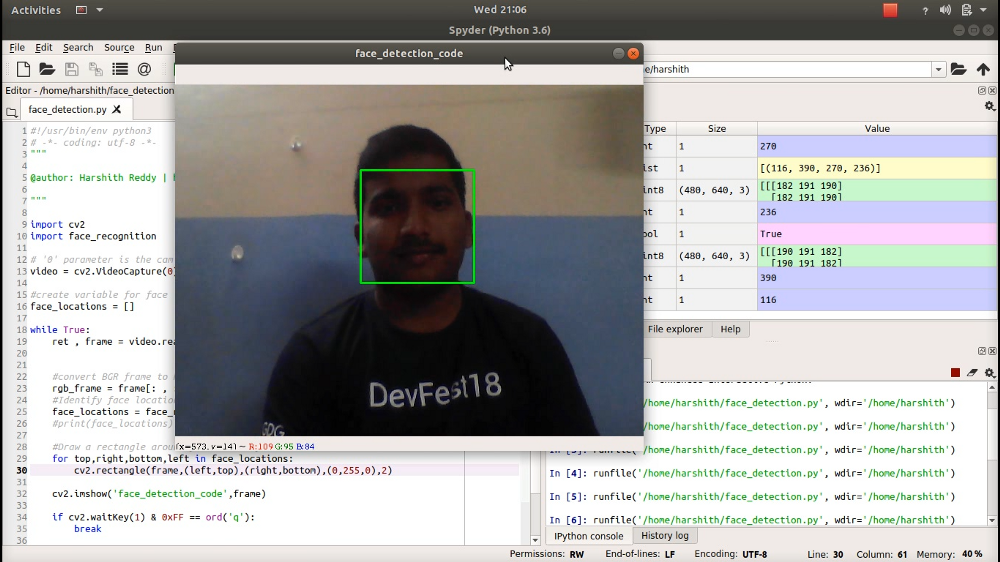 Face detection using openCV, in 30 lines of python – mc ai