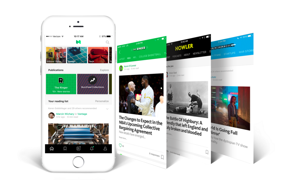 A New Home for Your Favorite Publications in the Medium App