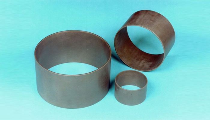 Shaft sleeves for big pumps (CMC), (Image courtesy: CMC shaft sleeves by MT Aerospace AG, Augsburg, Germany Licensed under CC BY-SA 3.0)