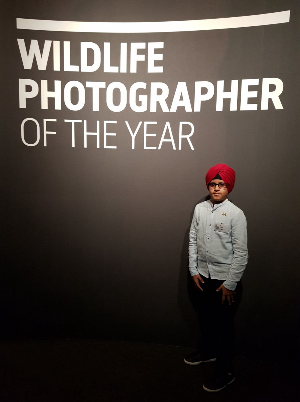 In the ceremony of Wildlife Photographer of the Year-2018