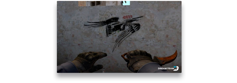 CS:GO Graffiti: what's with the walls?