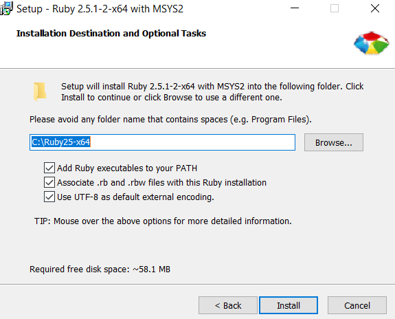 Installation of Ruby on Rails on Windows - Devops4Solutions