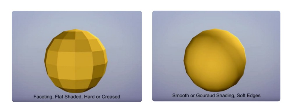 Flat Shading vs. Smooth Shading