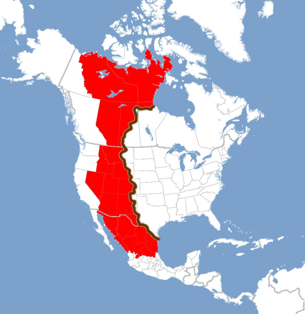 North america great lakes earth by jdailey1991 on deviantart four million cubic miles in volume and over 6500 feet at the thickest the result of lava flooding western north america 65 million years ago publicscrutiny Images