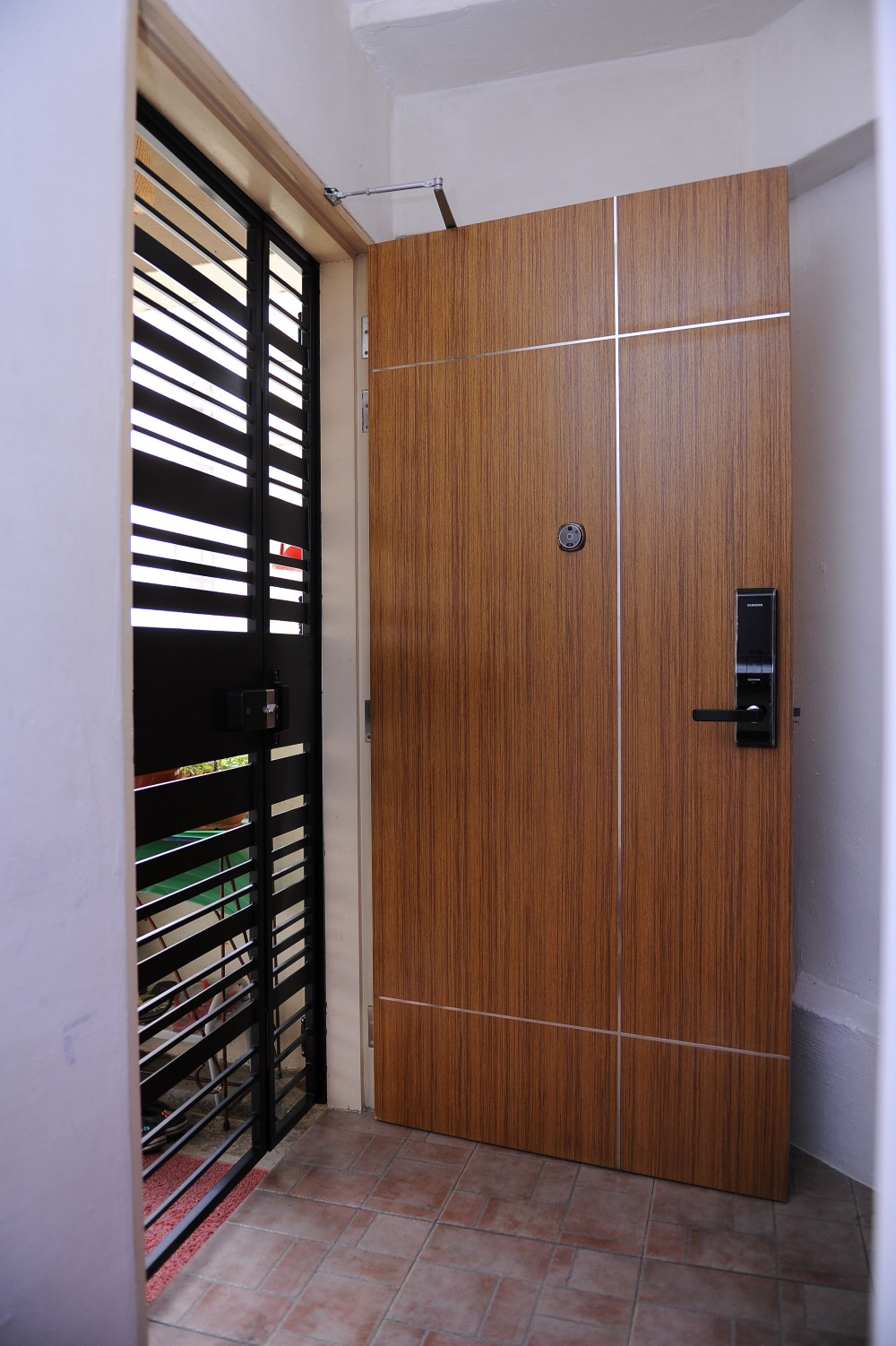 Fire Rated Doors : Veneer hdb fire rated door at factory price with discount