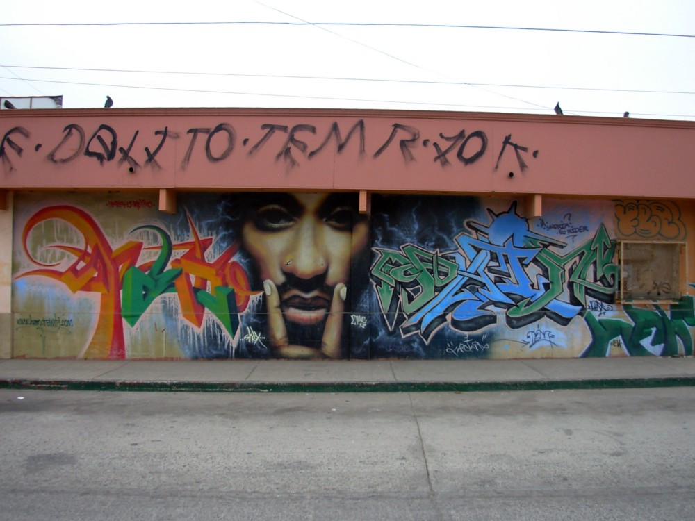 2pac murals from around the world sports hip hop for 2pac mural new york