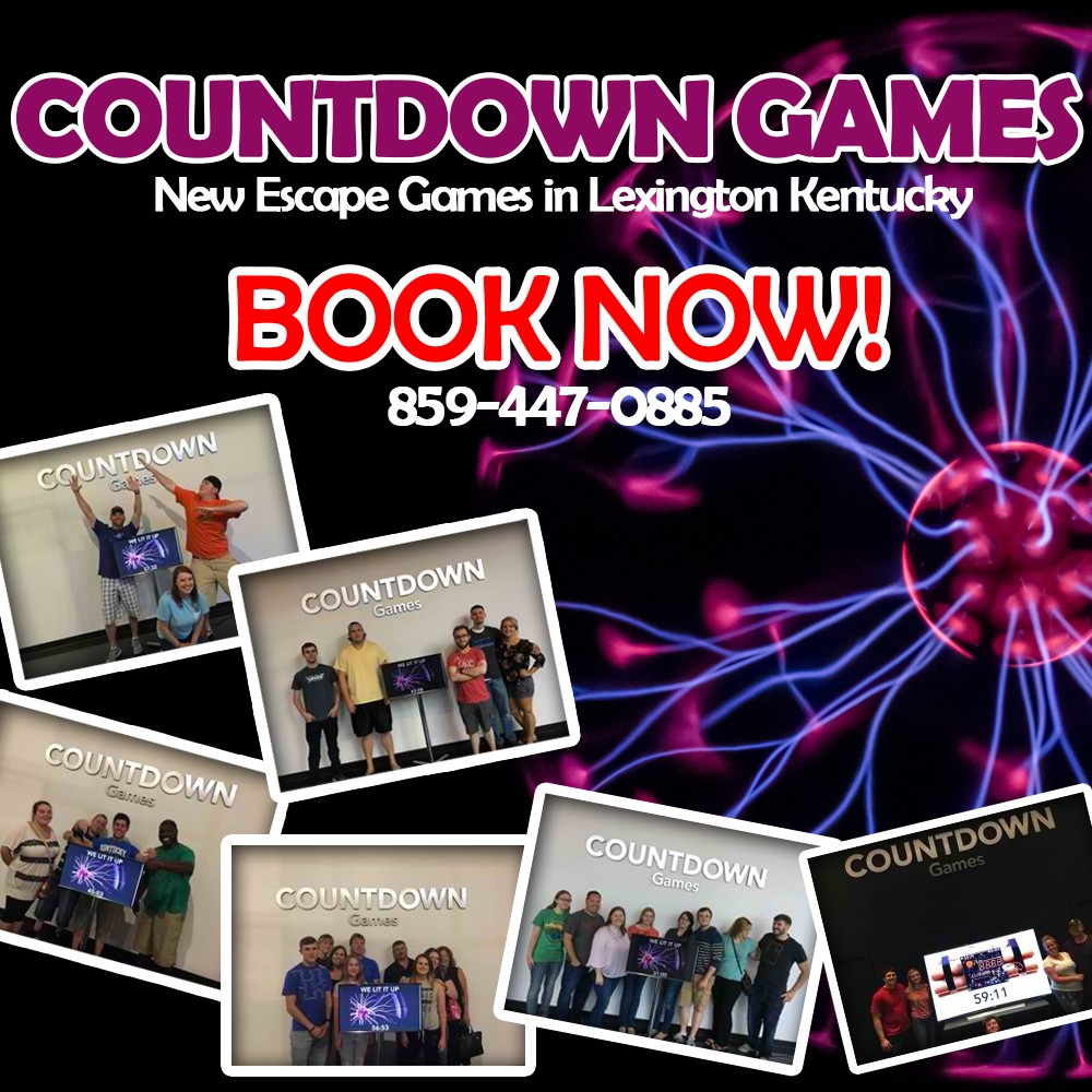 The New Escape Craze Hits Lexington Ky With Countdown A Newly Built Venue For People Around Area And Nearby Cities