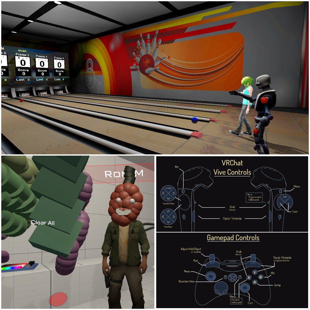 Bowling, Art Studio, and new Interaction