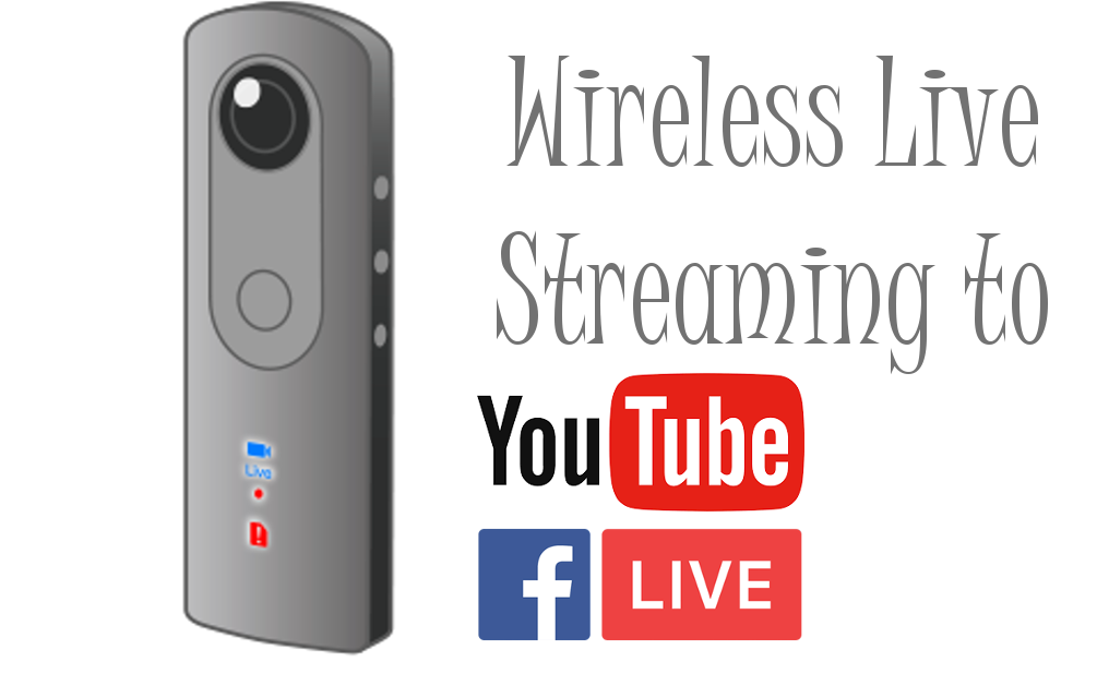 You can stream live 360° events to Facebook and YouTube using the THETA V.  First, connect the THETA to the Internet with Wi-Fi or Ethernet, then use  the new ...