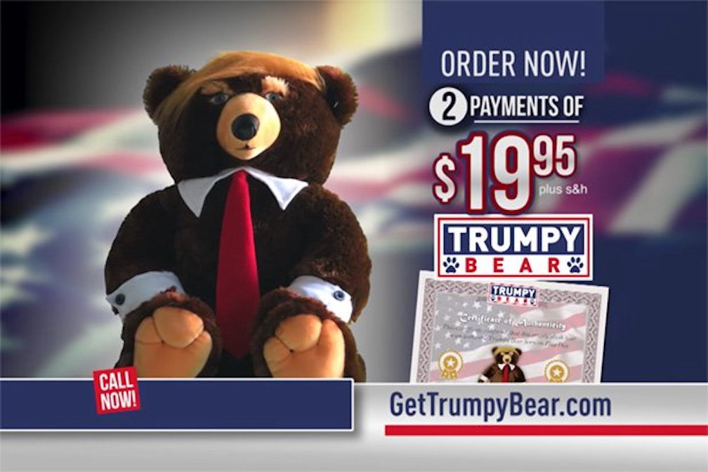 Is trumpy bear made in america