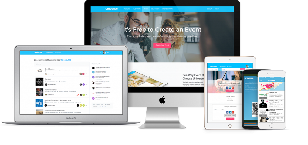 how to create tickets for private event