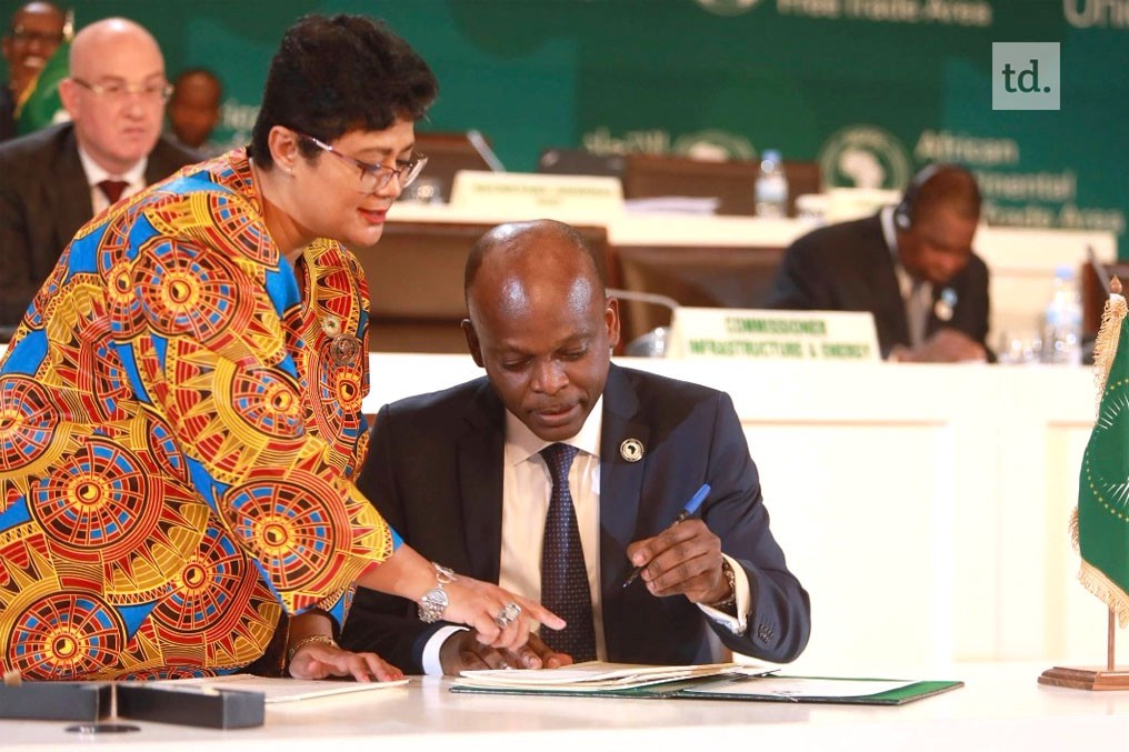 Togo Signed The Continental Free Trade Agreement Diplomatie