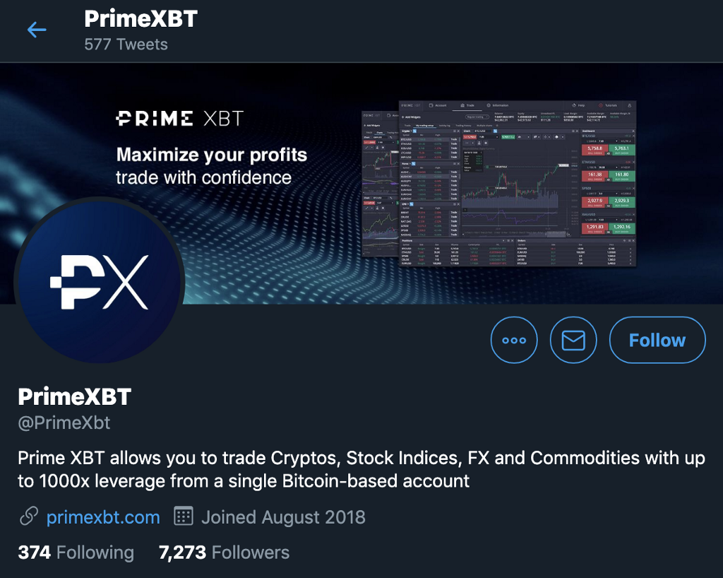 PrimeXBT Scam Warning and Recommended Precautionary Steps