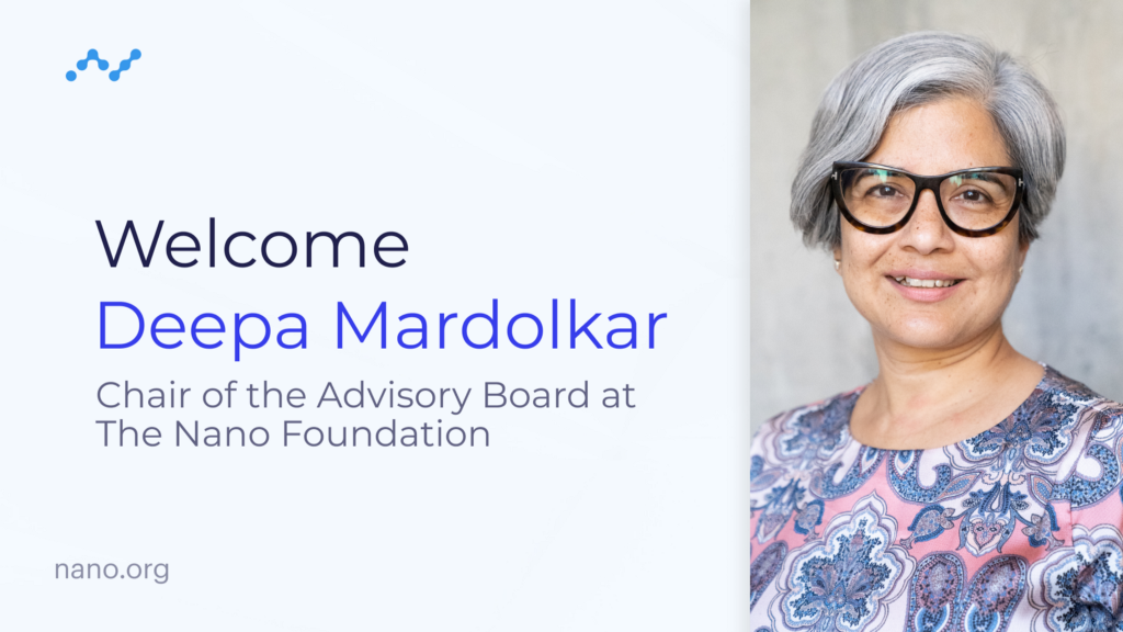 Nano Foundation Appoints Deepa Mardolkar as Chair of Advisory Board