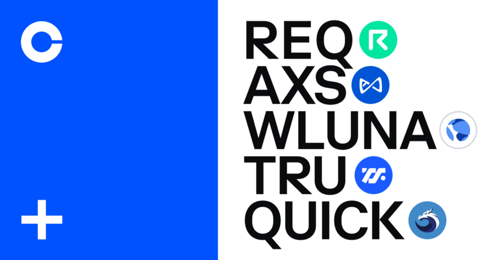 Axie Infinity (AXS), Request (REQ), TrueFi (TRU), Quickswap (QUICK) and Wrapped Luna (WLUNA) are…Cryptocurrency Trading Signals, Strategies & Templates | DexStrats
