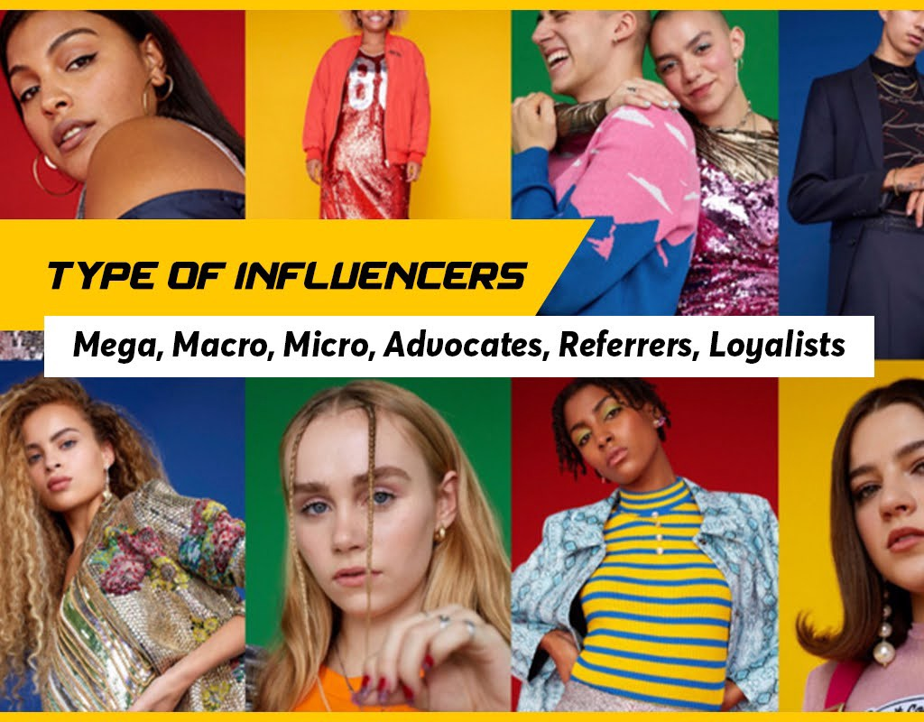Types Of Online Influencers