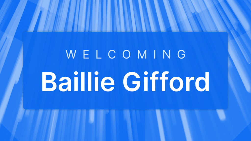 Welcoming Baillie Gifford