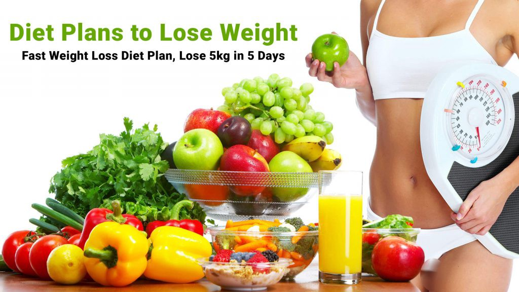 How To Lose Weight Faster Lose 5 Kg In Just 5 Days Diet Plan