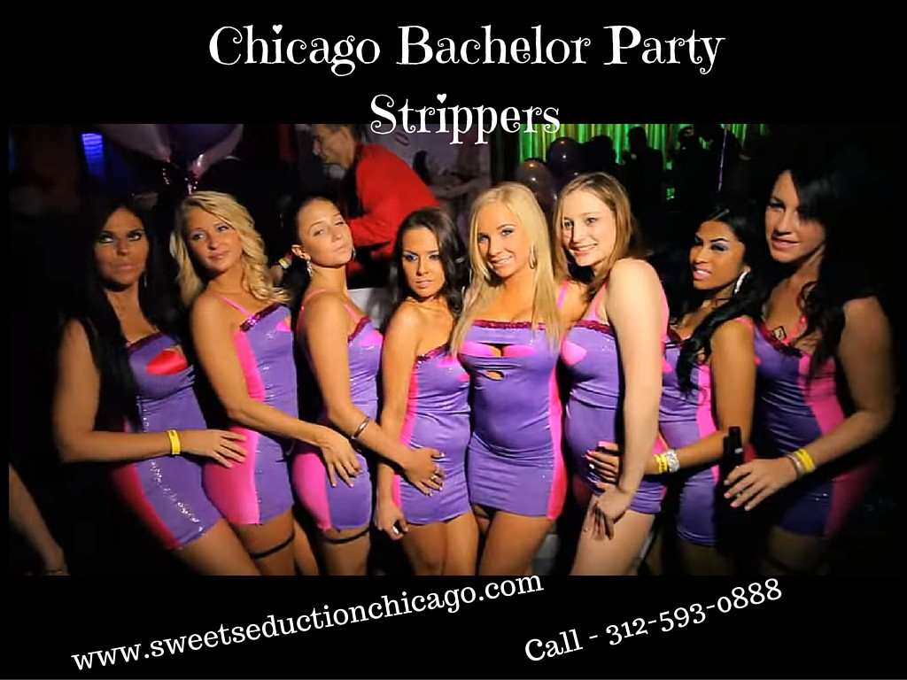 in chicago party Stripper bachelor